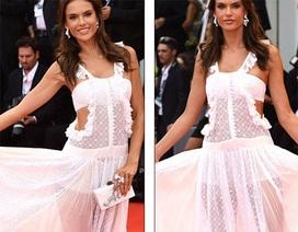 Thiên thần nội y diện váy xuyên thấu dự liên hoan phim