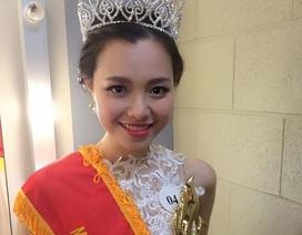 Ngắm vẻ đẹp dịu dàng của tân Hoa khôi SV Việt tại Úc