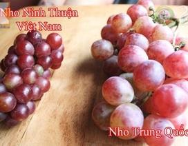 Tuyệt chiêu đơn giản nhận biết hoa quả Trung Quốc