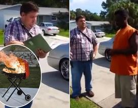 Bị chính quyền cảnh cáo vì nướng thịt khói bay sang nhà hàng xóm