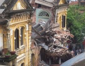 Hà Nội: Sập biệt thự Pháp cổ, 2 người tử vong, 6 người bị thương