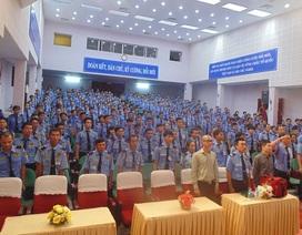 Hoa hậu Bùi Thị Hà tổ chức sát hạch 500 nhân viên bảo vệ