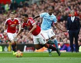 Man Utd 0-0 Man City: Bất phân thắng bại