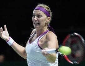 Đồng hương giúp sức, Kvitova có vé vào bán kết