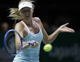"""""""Búp bê"""" Sharapova toàn thắng ở vòng bảng"""