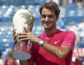 Federer, Serena Williams vô địch Cincinnati Masters