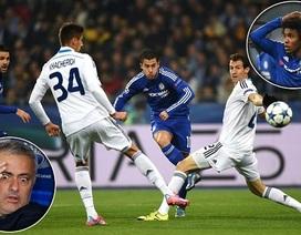Vận may ngoảnh mặt, Chelsea chia điểm tại Kiev