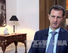 """Số phận Tổng thống Syria là một """"giới hạn đỏ"""""""