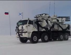 Nga duyệt binh ở Bắc Cực kỷ niệm kết thúc Thế chiến 2