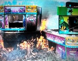 Tiêu huỷ 23 máy game bắn cá không giấy phép kinh doanh