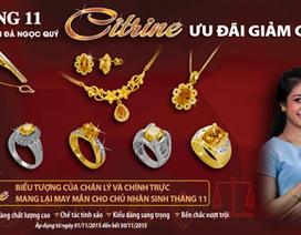 Citrine tháng 11: Níu giữ sắc thu vàng