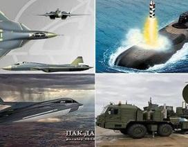 Báo Mỹ chọn 5 vũ khí Nga mạnh nhất trong tương lai