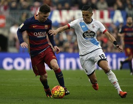 Barcelona hòa thất vọng Deportivo tại Nou Camp