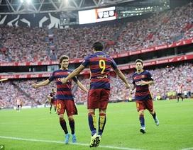Suarez tỏa sáng, Barcelona phục hận thành công Bilbao