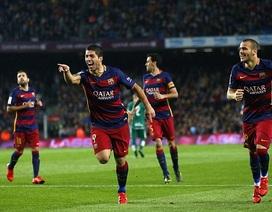 Luis Suarez lập hattrick, Barcelona ngược dòng hạ Eibar