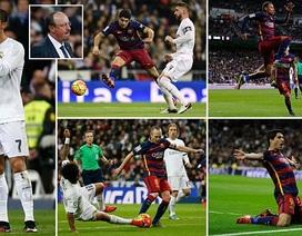 Barcelona đánh bại Real Madrid 4-0 tại Bernabeu
