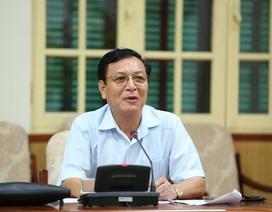 Bộ trưởng Phạm Vũ Luận nhận trách nhiệm về hạn chế trong xét tuyển ĐH