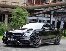 """Brabus giới thiệu """"siêu phẩm"""" Mercedes-AMG C63 gần 600 mã lực"""