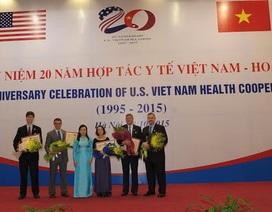 Gần 50 cá nhân đóng góp lớn cho hợp tác y tế Việt Nam - Hoa Kỳ
