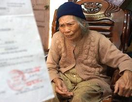 Vụ áp thuế 5,7 tỷ cho 253m2 đất huyện: Cụ bà 75 tuổi đã chạm một tay vào công lý!