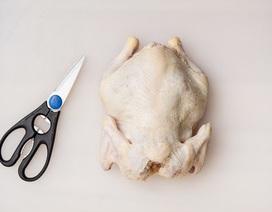 Cách lọc gà bằng kéo siêu đơn giản