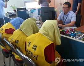 Hàn Quốc bắt 7 người Indonesia sát hại, vứt xác thuyền viên Việt Nam