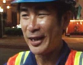 Người đàn ông quét rác nghèo không tham 20 triệu đồng nhặt được