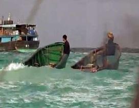 Cận cảnh ngư dân Trung Quốc tàn phá rạn san hô ở Biển Đông