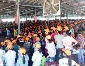 Đình chỉ chủ quản người Trung Quốc đập giày vào mặt công nhân Việt