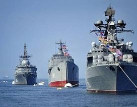"""Những chuyến thăm của Hải quân Nga """"khi thời tiết nóng"""""""