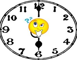 Bài toán: Có bao nhiêu lần kim phút và kim giờ tạo với nhau một góc 180 độ?