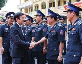 Chủ tịch nước: Cảnh sát biển bảo vệ biển đảo thiêng liêng trong mọi suy nghĩ và hành động!