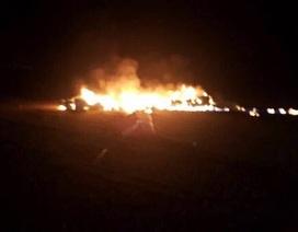 Máy bay không người lái Mỹ bốc cháy tại Kuwait