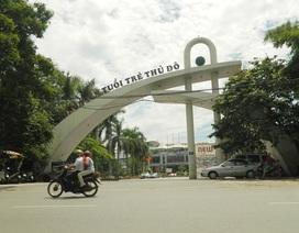 """Hà Nội: Tổng rà soát tình trạng ồ ạt """"xẻ thịt"""" công viên Tuổi trẻ"""