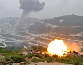 Hàn-Mỹ tập trận mô phỏng tình huống chiến tranh