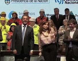 Ông Putin khâm phục điệu nhảy bốc lửa của nữ tổng thống Argentina