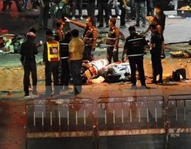 Thái Lan bắt phóng viên Hong Kong đến hiện trường vụ đánh bom