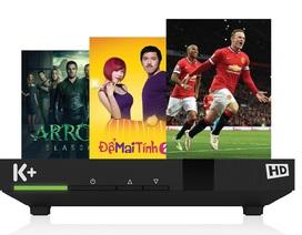 Đầu thu mới của K+ hỗ trợ 39 kênh truyền hình quảng bá