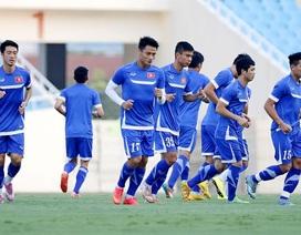 Đội tuyển Việt Nam đầy hứng khởi sau trận hòa Iraq