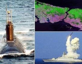 """Eo biển Bosphorus: Mỹ-NATO có nhốt được """"Gấu Nga"""" trong Biển Đen?"""
