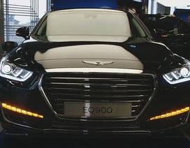 Cận cảnh xe sang Genesis G90 của Hyundai