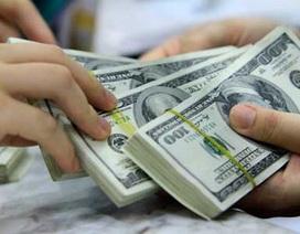 Giá USD ngân hàng tăng vọt lên trên 22.000 VND