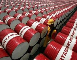 Giá dầu thế giới xuống ngưỡng 40 USD/thùng