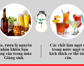 Thực phẩm dễ gây béo phì mùa Giáng sinh