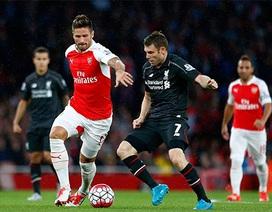 Trọng tài sai lầm, Arsenal và Liverpool bất phân thắng bại
