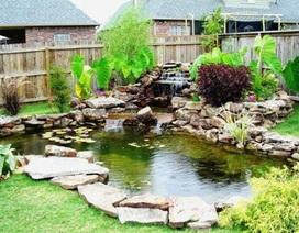 10 ý tưởng độc đáo cho hồ nước nhỏ trong sân