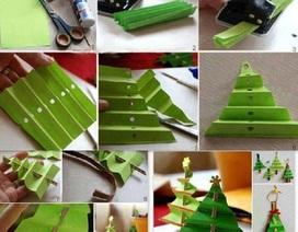 """9 ý tưởng đồ trang trí """"handmade"""" cho mùa Giáng sinh"""