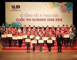 Gần 200 giải thưởng dành tặng học viên xuất sắc nhất VUS SUMMER STAR 2015