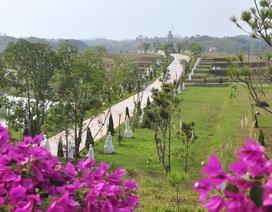 Chiêm ngưỡng công viên nghĩa trang 5 sao Thiên Đức Vĩnh Hằng Viên