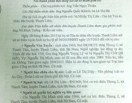 """Đề nghị xét xử công tâm vụ án """"Cố ý gây thương tích"""" tại tỉnh Hà Nam"""